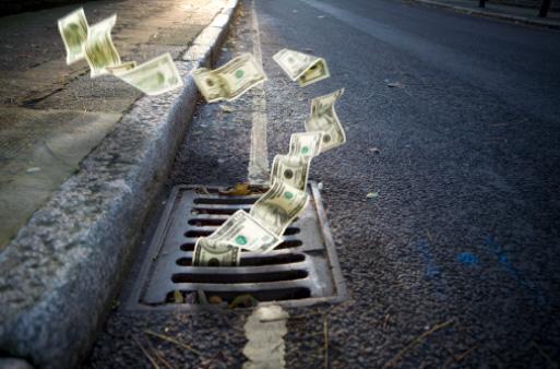 erros dinheiro