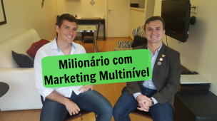 Milionário com marketing multinível