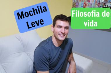 Filosofia de vida da Mochila Leve