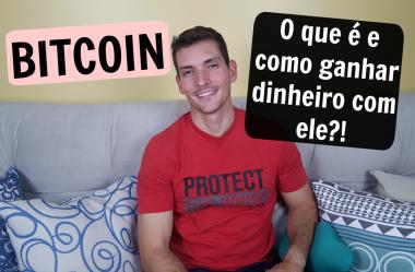 Bitcoin – O que é e como ganhar dinheiro com ele?!