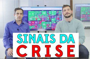 Sinais da crise